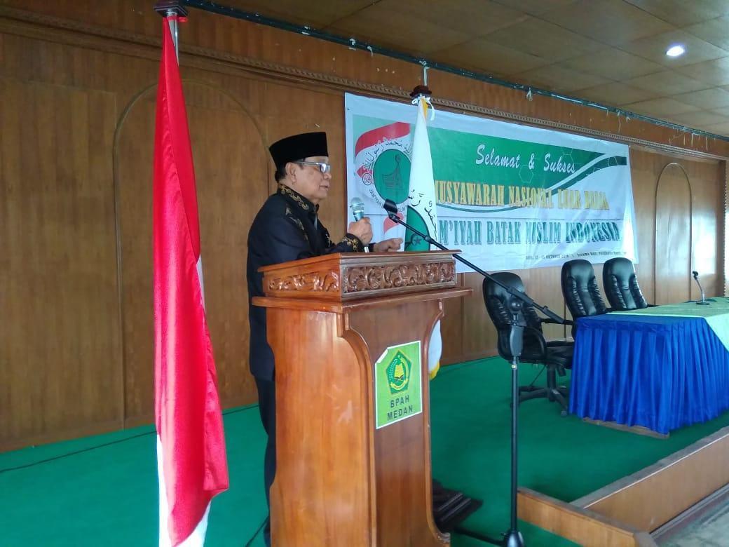 Munaslub JBMI, Resmi di Gelar di Medan