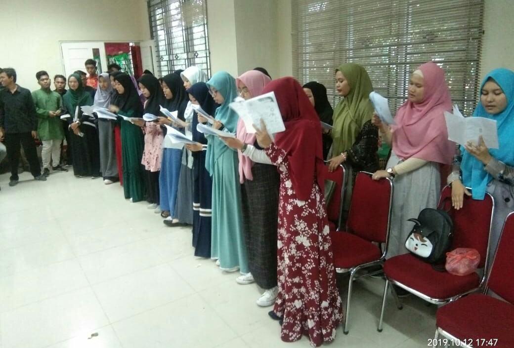 """HMI FUSI UINSU, Laksanakan Maperca """"Kuliah Prioritas Organisasi Totalitas"""""""