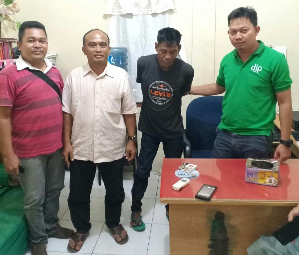 Warga Tanjung Balai, Disergap Personil Polsek Kualuh Hulu