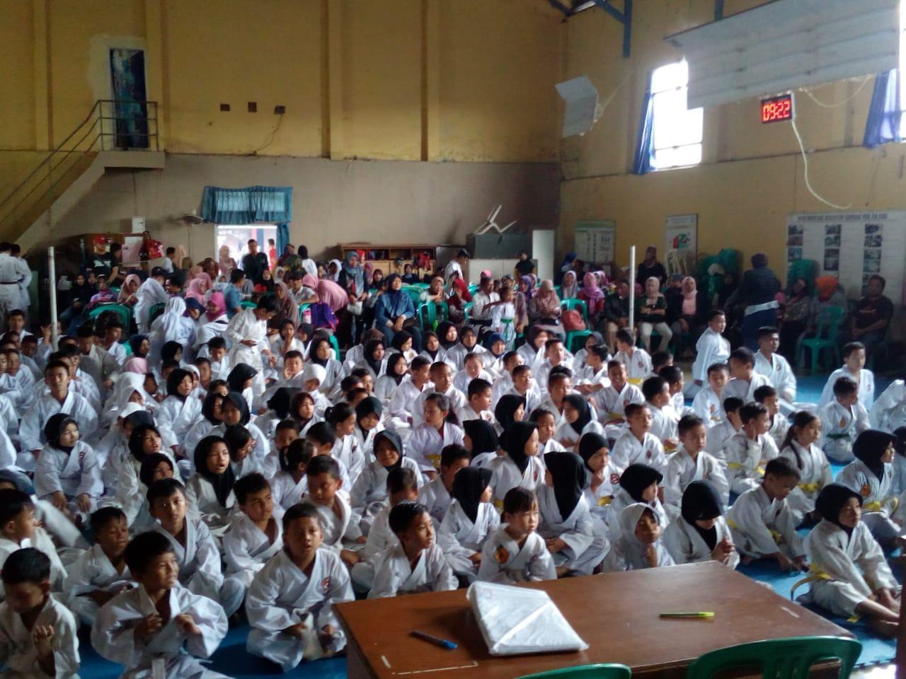 Banjar Karate Club, Gelar Ujian Kenaikan Tingkat