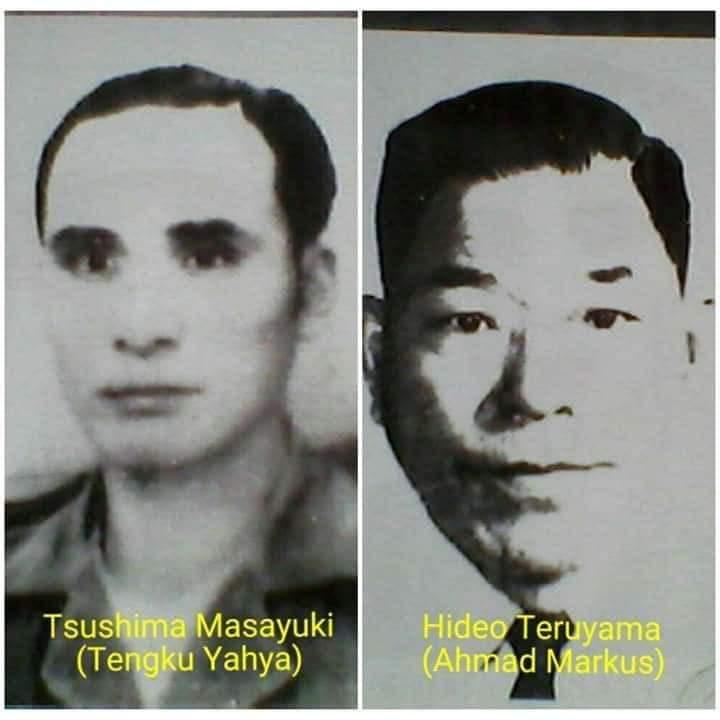 Makam Serdadu Jepang, Bernama Tengku Yahya
