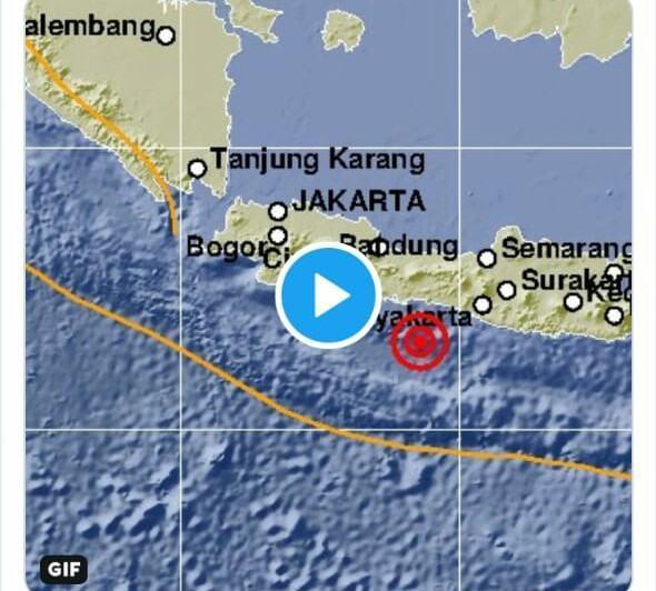 Gempa Bumi Magnitudo, Tidak Berpotensi Tsunami di Cilacap