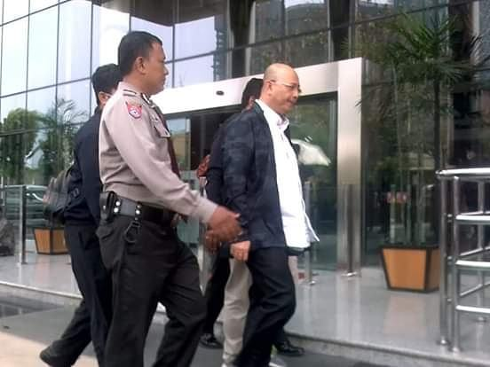 Wali Kota Medan, Dzulmi Eldin Tiba di Gedung KPK