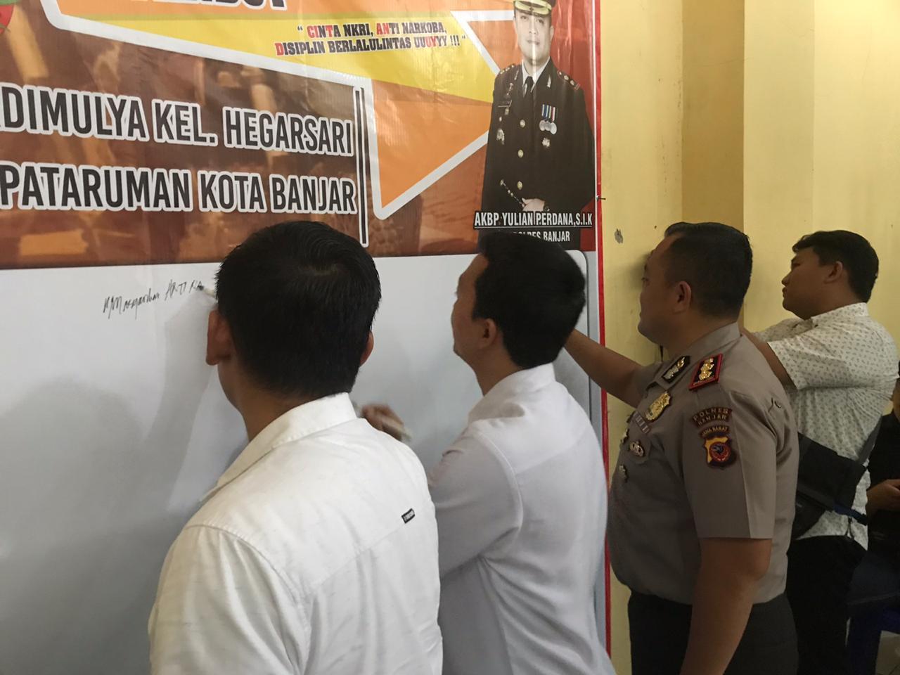 Polres Banjar, Sosialisasikan CITANDUY ke Berbagai Elemen Masyarakat