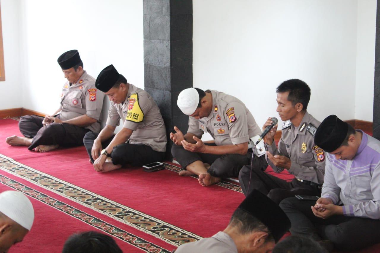 Jelang Pelantikan Presiden, Polres Banjar Gelar Do'a Bersama