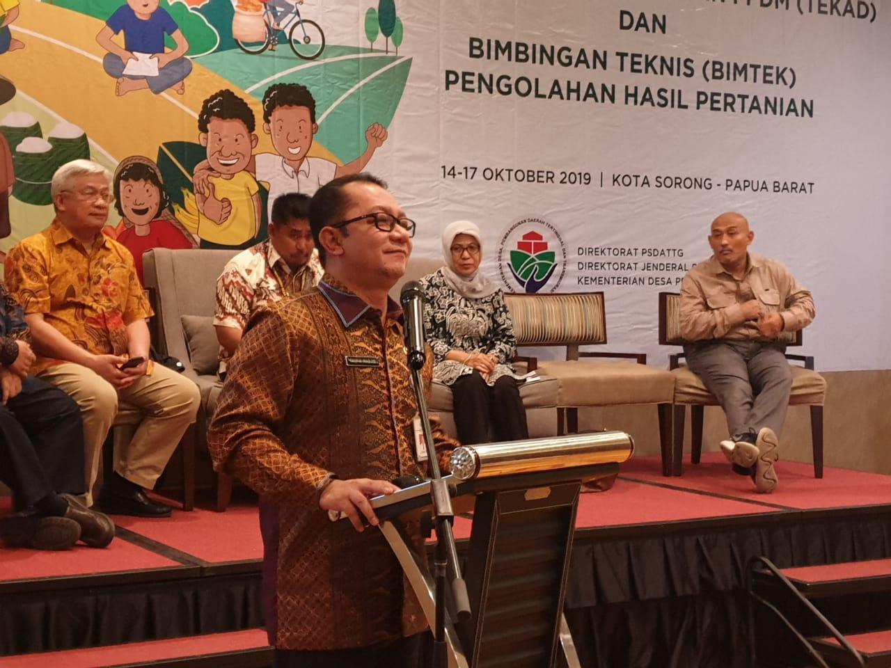 Dirjen PPMD, Motivasi Warga Papua Barat untuk Majukan Kampung