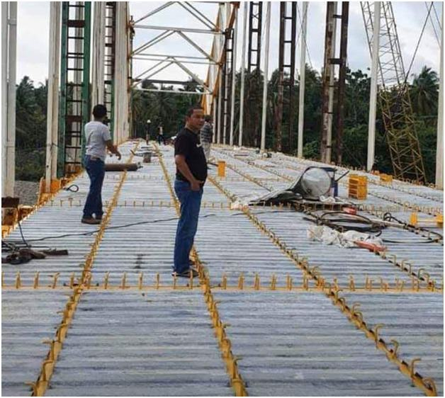 Tepati Janji Kampanye, Bupati Tapteng Bangun Jembatan Sepanjang 110m di Barus