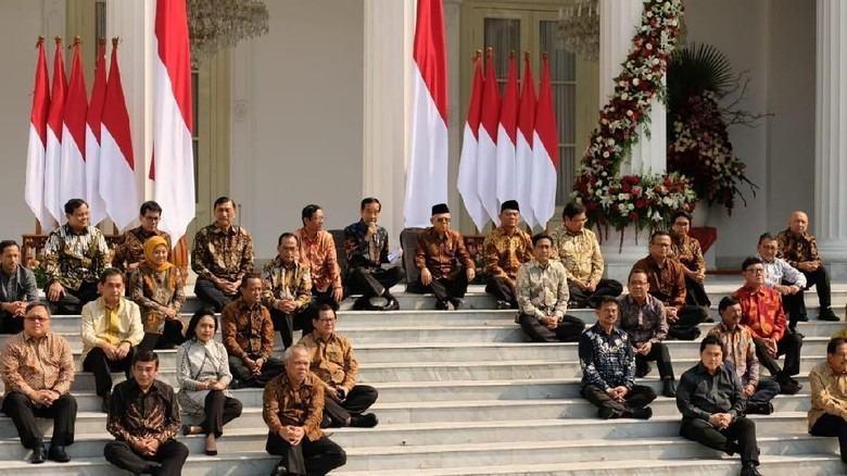 Susunan Kabinet Jokowi Lengkap, Minus Susi Pujiastuti