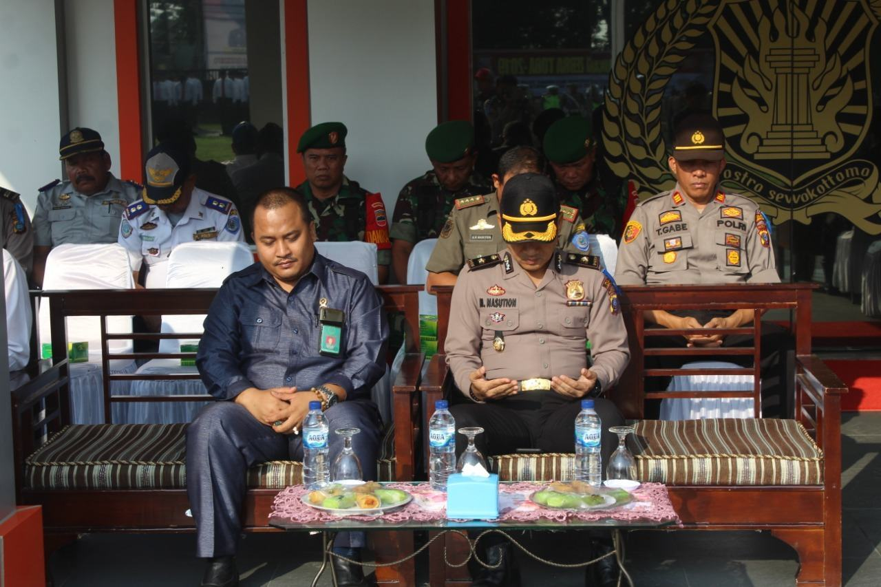 Kapolres Labuhanbatu, Pimpin Apel Pasukan Ops Zebra Toba 2019