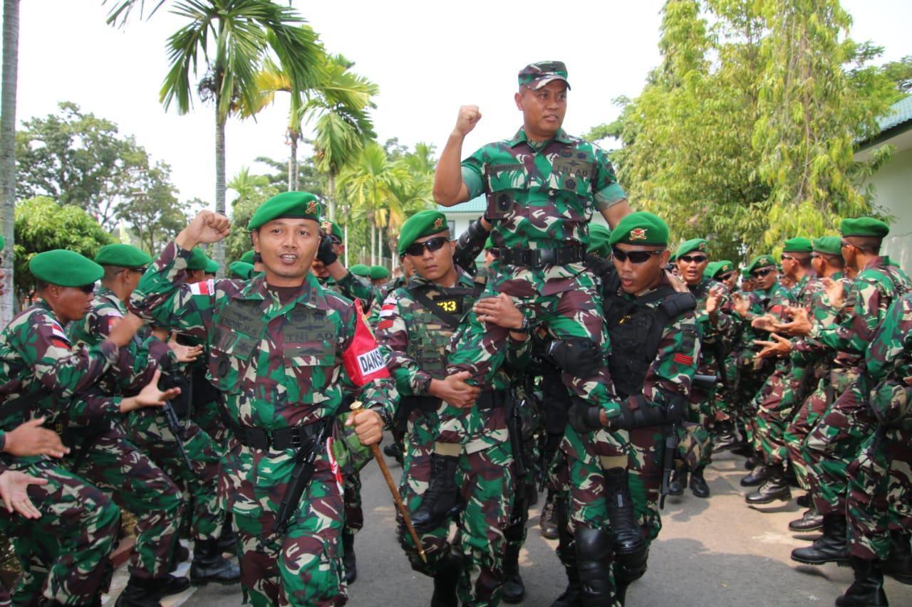 TNI Jaga di perbatasan, Kasdam I/BB Cek Kesiapan