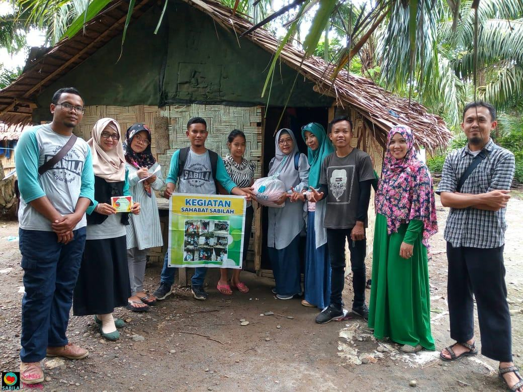 Sahabat Sabila, Program Sedekah OM - OK di Kecamatan Binjai