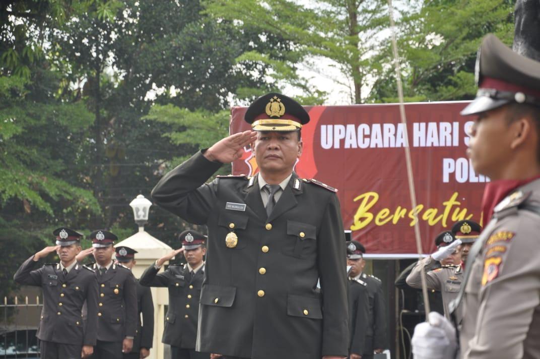 Peringatan Hari Sumpah Pemuda ke-91, Wakapolres Banjar Jadi Inspektur Upacara