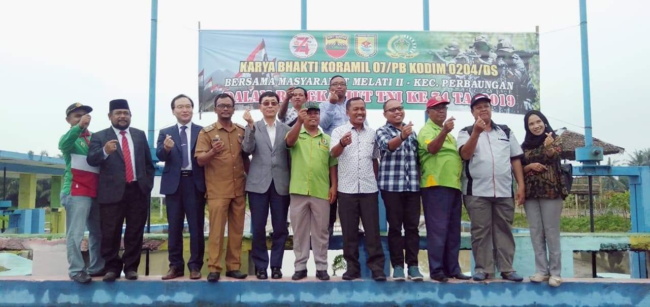 Deputi Sekjen TPO Wilayah Asia Pasifik : Desa Melati II Miliki SDA Yang Bagus