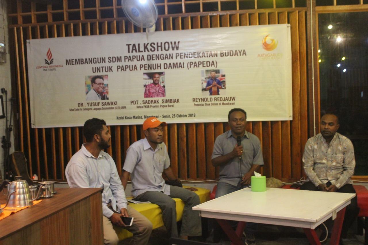 Membangun SDM Papua, dengan Pendekatan Budaya untuk Papeda