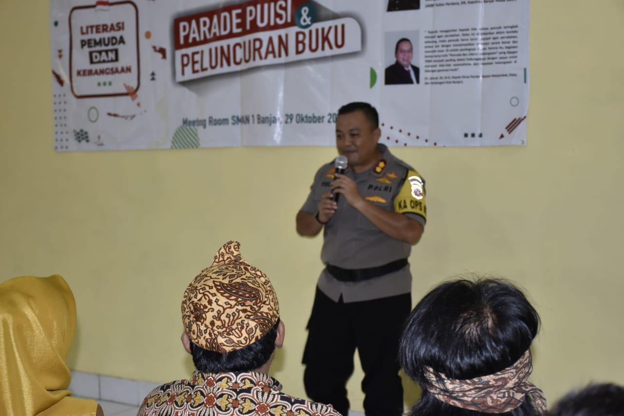 Hari Sumpah Pemuda ke-91, Kapolres Banjar: Literasi Kunci Kemajuan Negeri