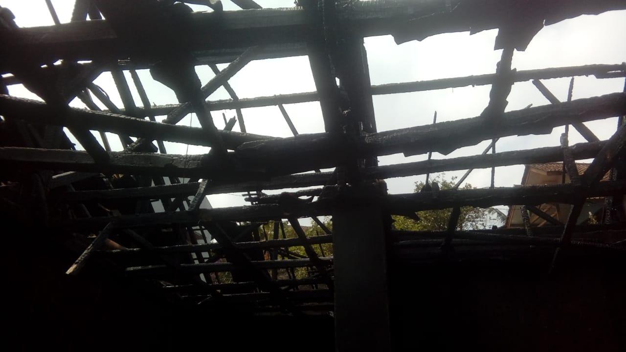 Kebakaran Rumah Ciamis, Diduga Korsleting Listrik