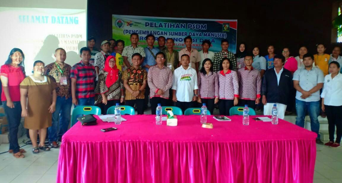 Pelatihan PSDM Dolok Panribuan, Berkomitmen Pencegahan Stunting