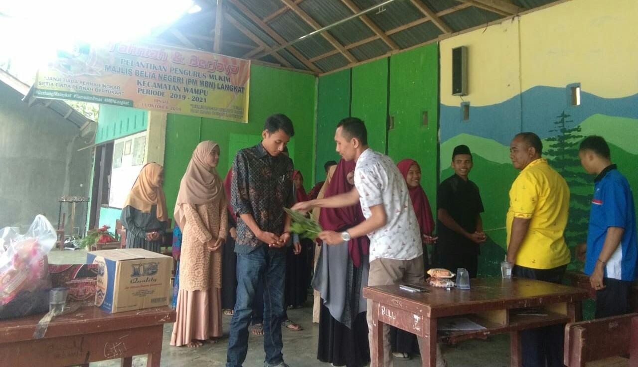 PM MBN Langkat Kecamatan Wampu 2019-2021 Dilantik