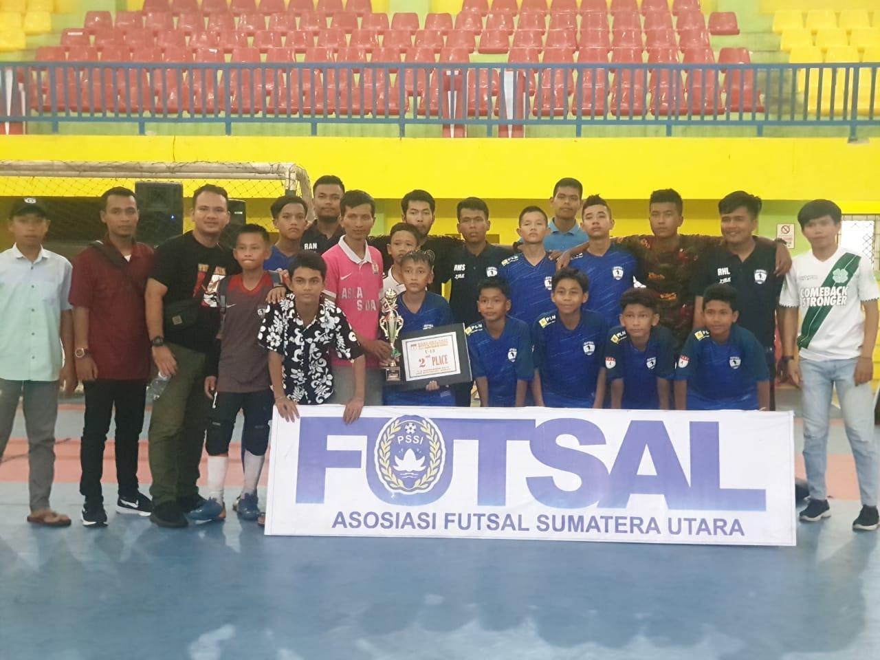 BIPMA FC, Kandas Dana Mewakili Sumut Tingkat Nasional