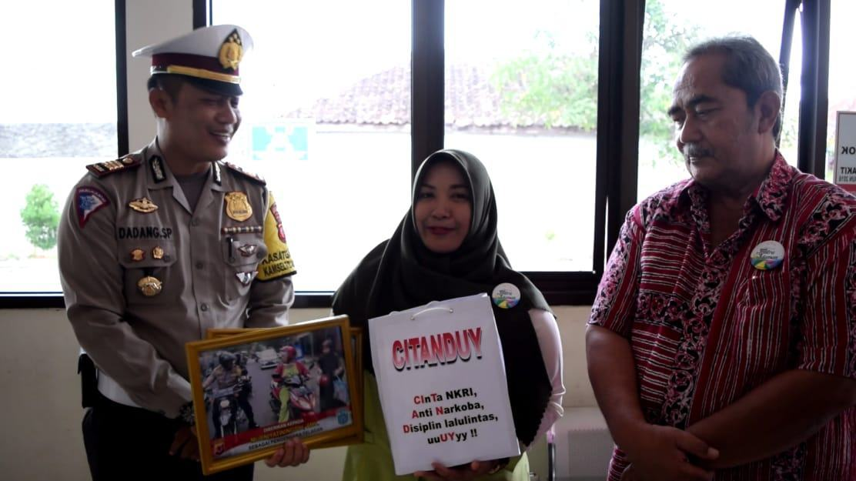 Satlantas Polres Banjar, Beri Reward kepada Citanduy