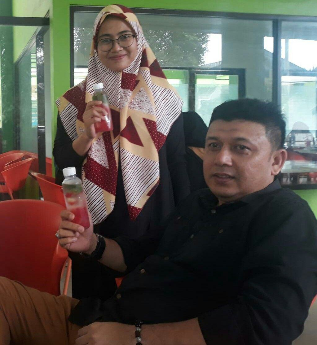 Mahasiswi FKM UIN SU, Buat Home Industri Minuman Infused Water