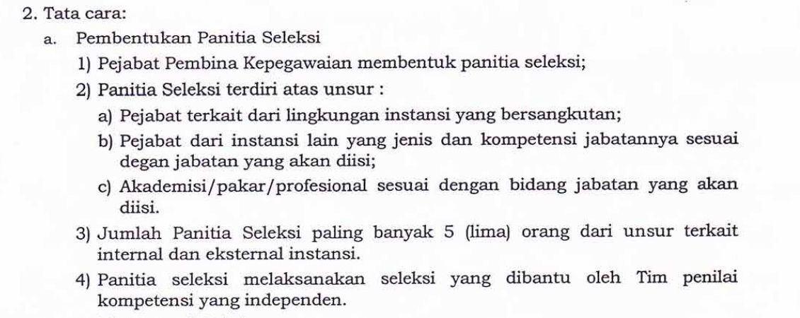 Jabatan Eselon II Sumut, AlasanBelum Disetujui KASN