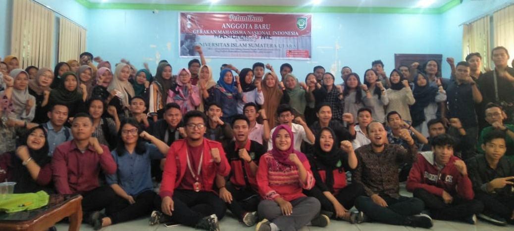 GMNI UISU, Melantik Anggota GMNI di 9 Kampus di Kota Medan