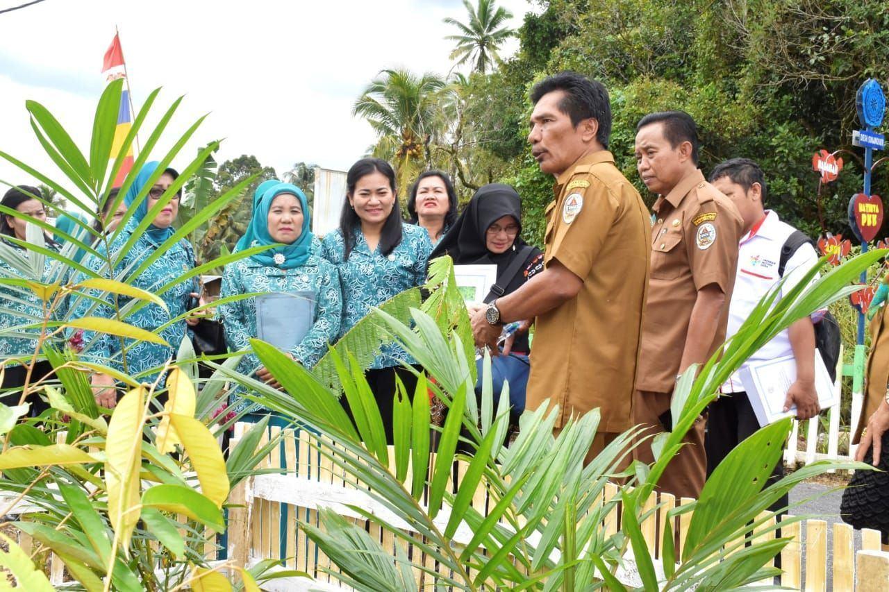 Pemprovsu Laksanakan Evaluasi Perlombaan Desa Terbaik Pelaksana PT P2W-KSS Tapteng