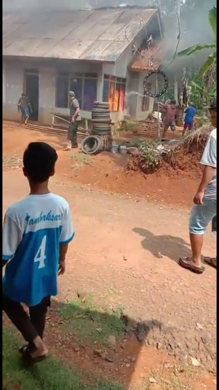 Kebakaran Rumah di Ciamis, Korban Diungsikan ke Rumah Kerabat