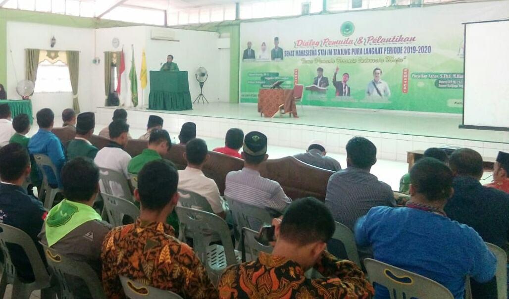 Senat STAI JM Tanjung Pura, Gelar Dialog Pemuda