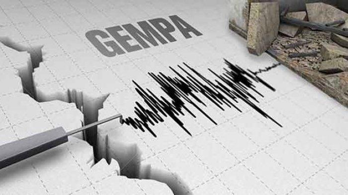 Gempa Bumi 4.8 SR, tidak Berpotensi Tsunami di Tasikmalaya - Jabar