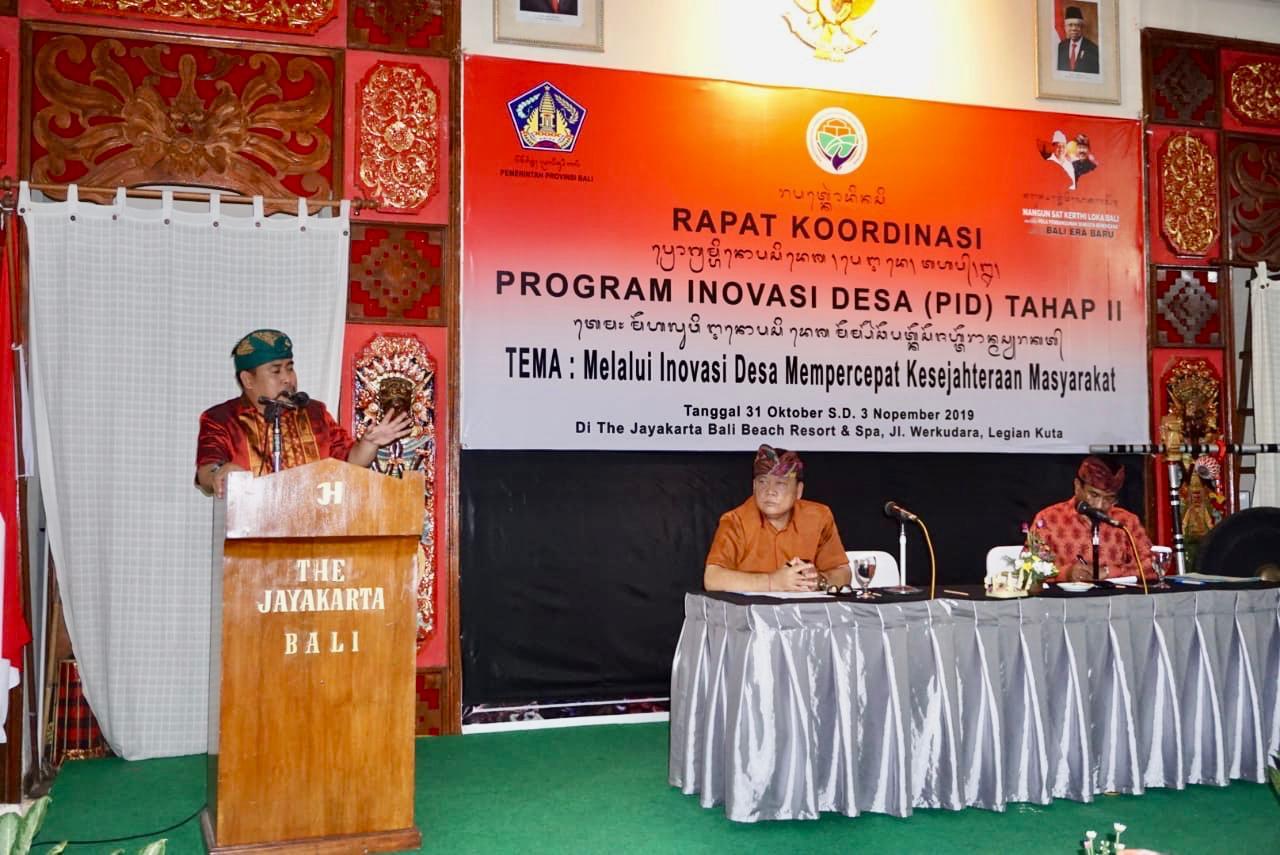 Direktur PMD : Inovasi Desa Percepat Kesejahteraan Masyarakat