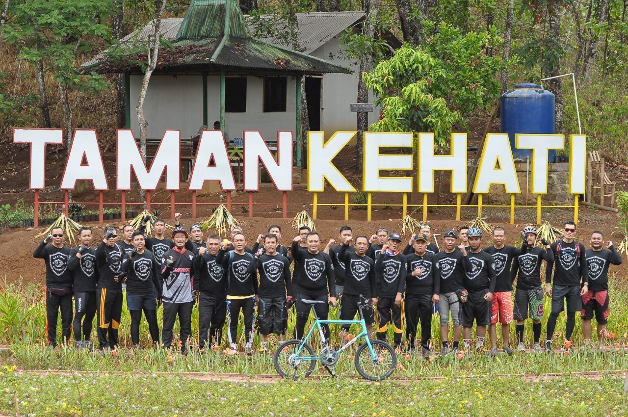 Kapolres Banjar, Goes Bareng dan Perkenalkan Objek Wisata