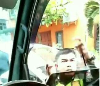 Polisi Pukul Supir Ambulance, Telah Dinonaktifkan