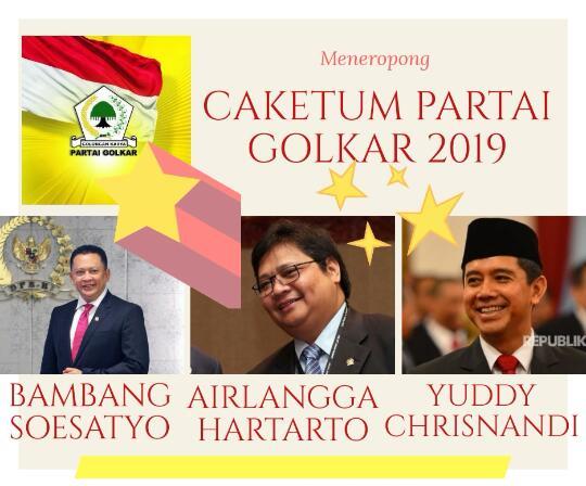 Munas Partai Golkar 2019, Profil Caketum Partai Golkar Airlangga Hartarto