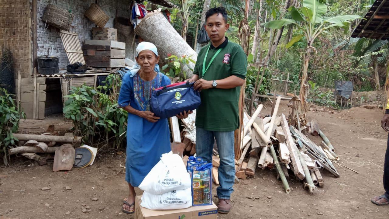 Rumah Ambruk Ciamis, Dinsos Berikan Batuan