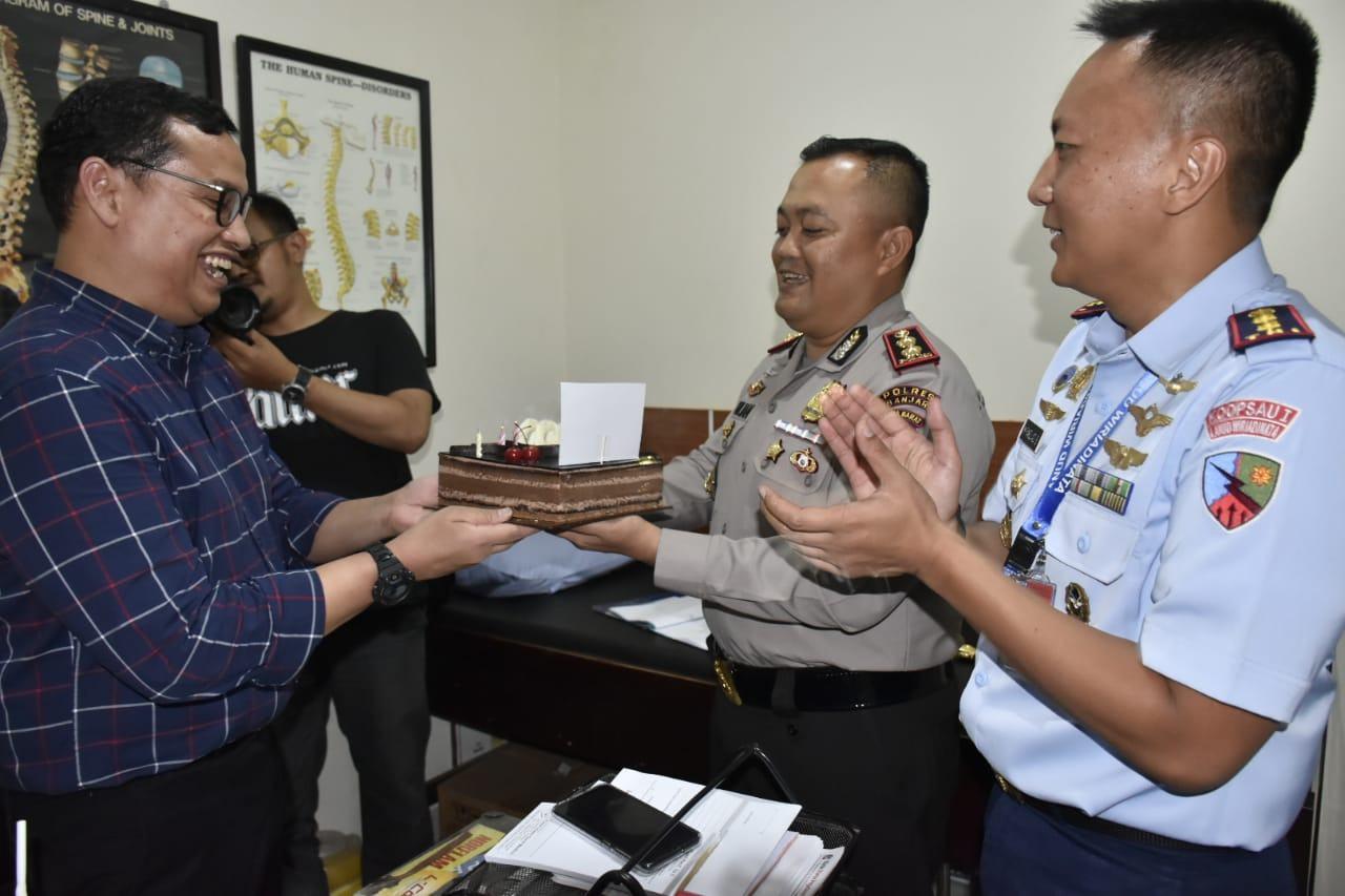 Kapolres Banjar, Silaturahmi Dengan Ketua IDI Kota Banjar