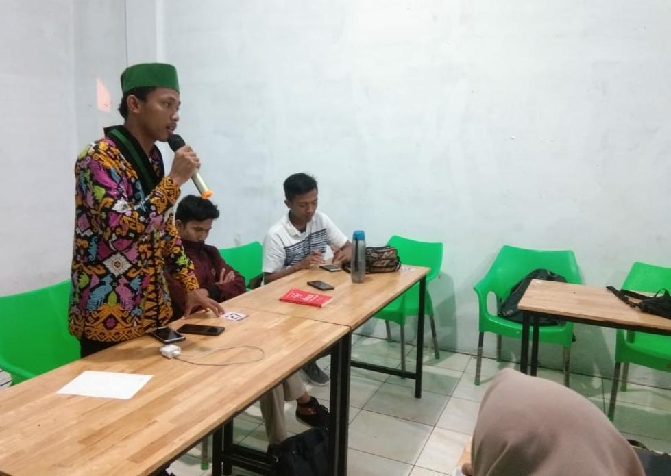 Ketua umum HMI Kom's FDK UIN-SU Muhammad Aulia