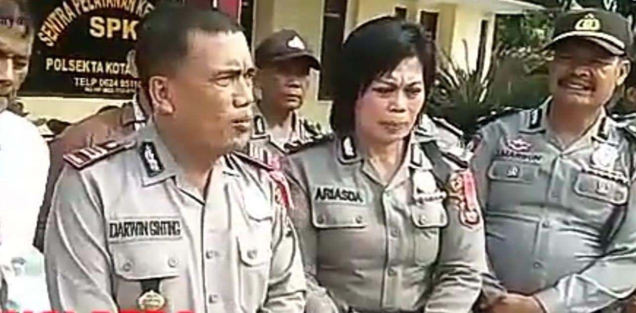 Polsek Kotapinang, MengamankDiduga Pengedar Narkoba