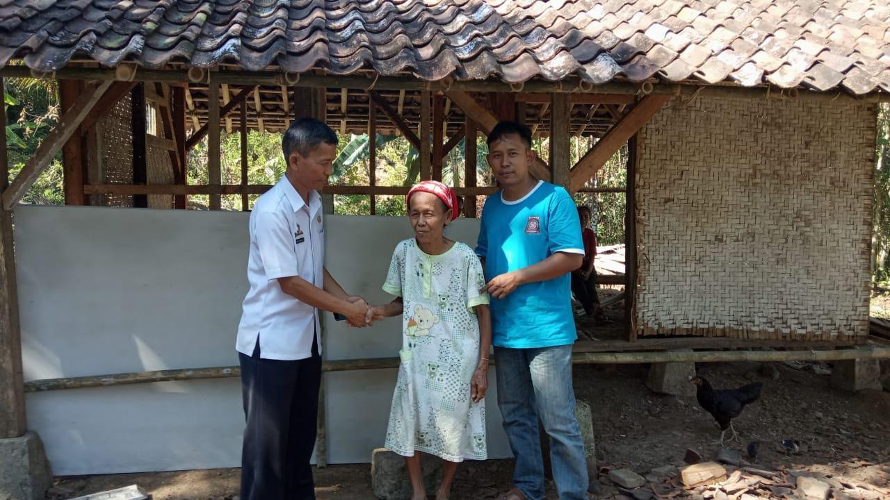Rumah Ambruk Ciamis, UPTD Bina Marga Baksos Bedah Rumah
