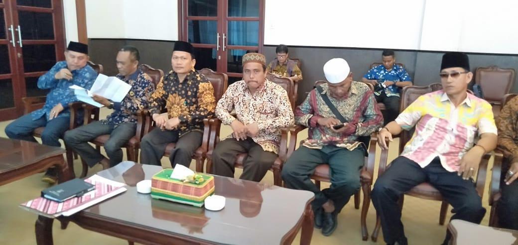 Jelang Pelantikan, DPD Al Ittihadiyah Asahan Audensi dengan Bupati Asahan