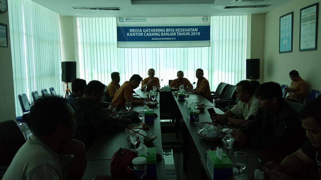 BPJS Kesehatan Cabang Banjar, Gelar Media Gathering 2019