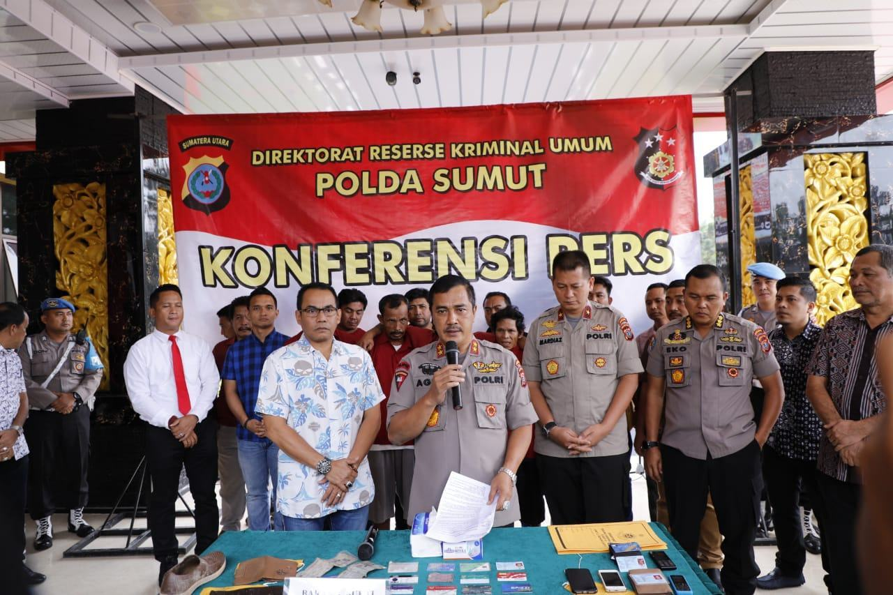 Polda Sumut, Berhasil Meringkus 5 Pelaku Pembantaian Wartawan Labuhanbatu