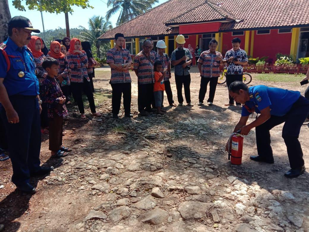 BPBD Pangandaran, Sosialisasi dan Simulasi Penanggulangan Kebakaran