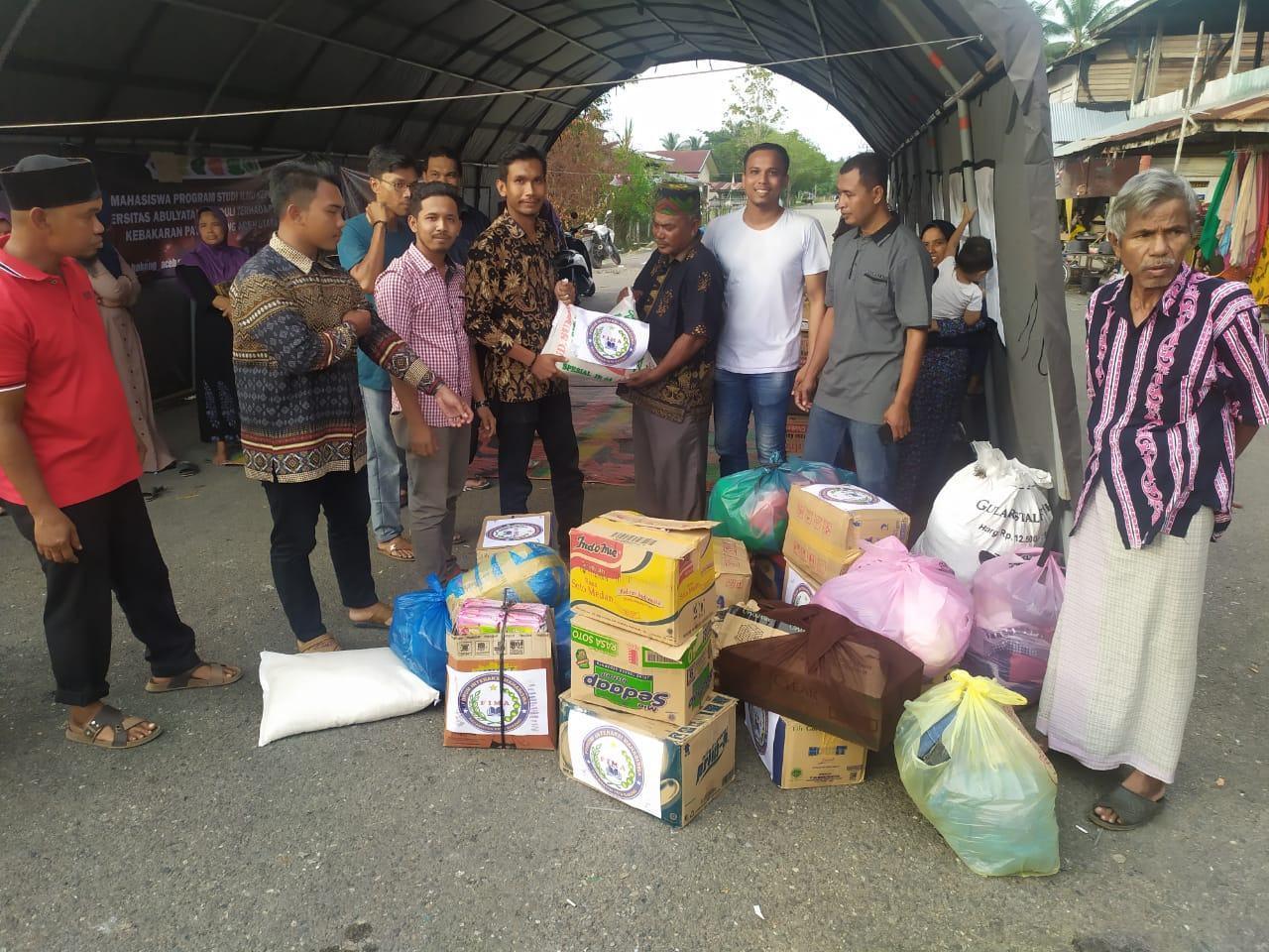 Aksi Kemanusiaan, FIMA Serahkan Bantuan Pada Korban Kebakaran