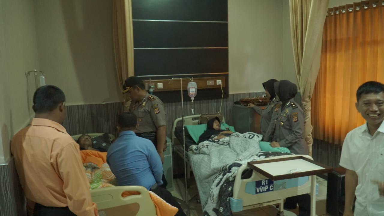 Anggota Polres Banjar Sakit, Rekan Doakan Semoga Cepat Sembuh