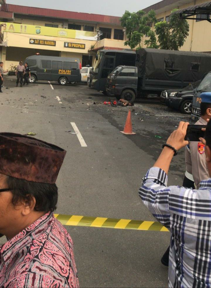 Bom di Poltabes Medan, Dilarang Sebar Foto-Video Korban Terorisme