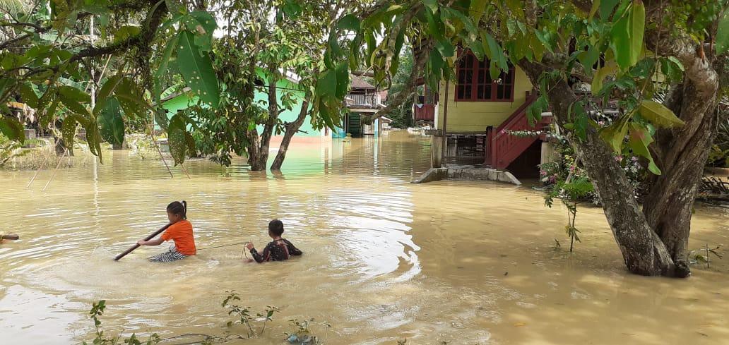 Aceh Tamiang Banjir, Berikut Nama Wilayah Yang Terdampak Banjir