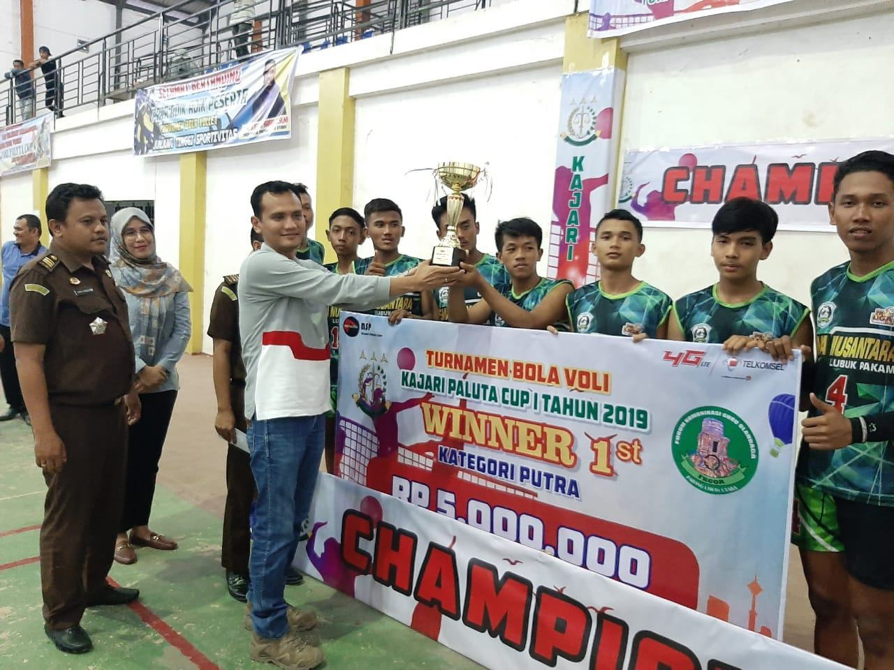 Deli Serdang, Borong Tournament Voly Kajari Paluta Cup I