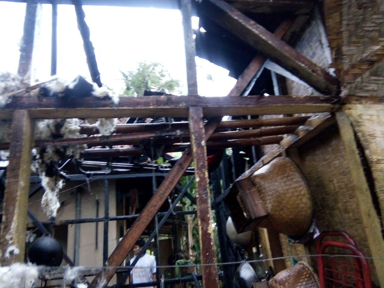 Rumah Terbakar di Ciamis, Diduga Akibat Tungku Memasak